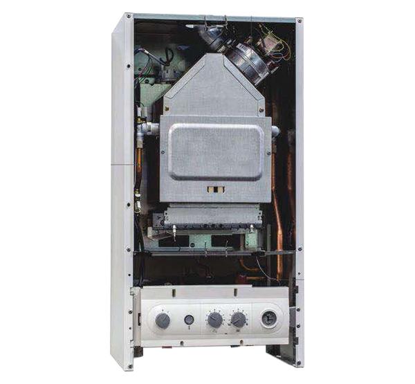 板换式24干瓦燃气供暖热水两用炉