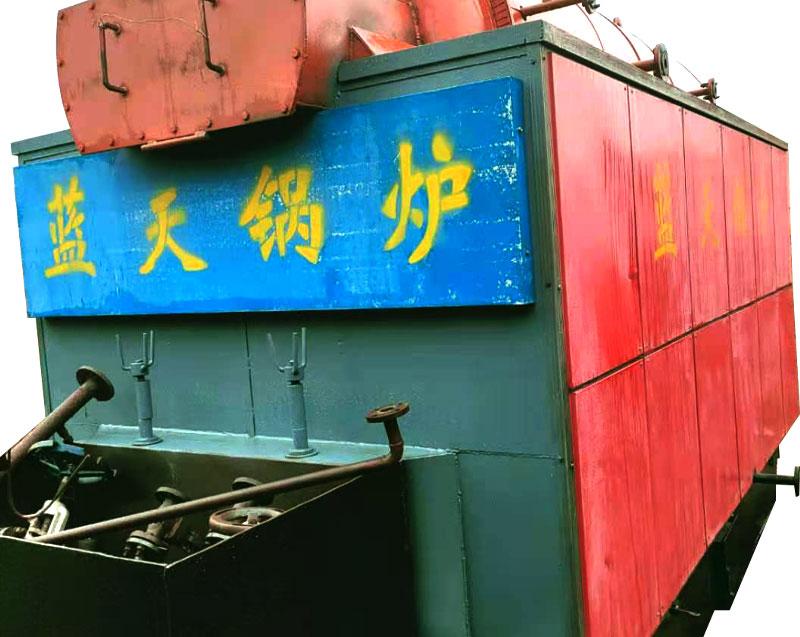蓝天锅炉厂 2吨蒸汽锅炉