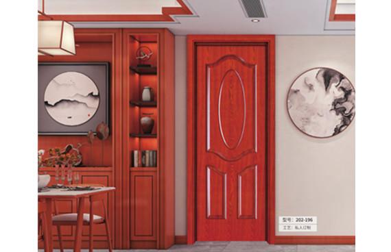 重庆经典深色室内门安装厂家