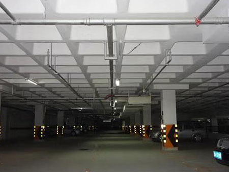 地下停车场使用效果