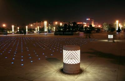 广场照明工程设计