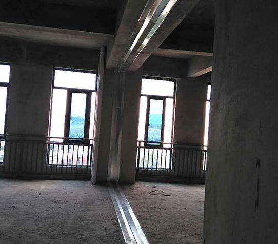 火石坡收费站室内铝材安装案例