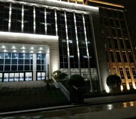 福泉市人民法院亮化安装