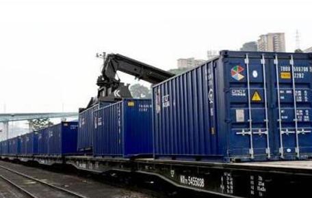 中欧班列集装箱货场