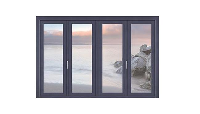 封阳台断桥铝推拉窗