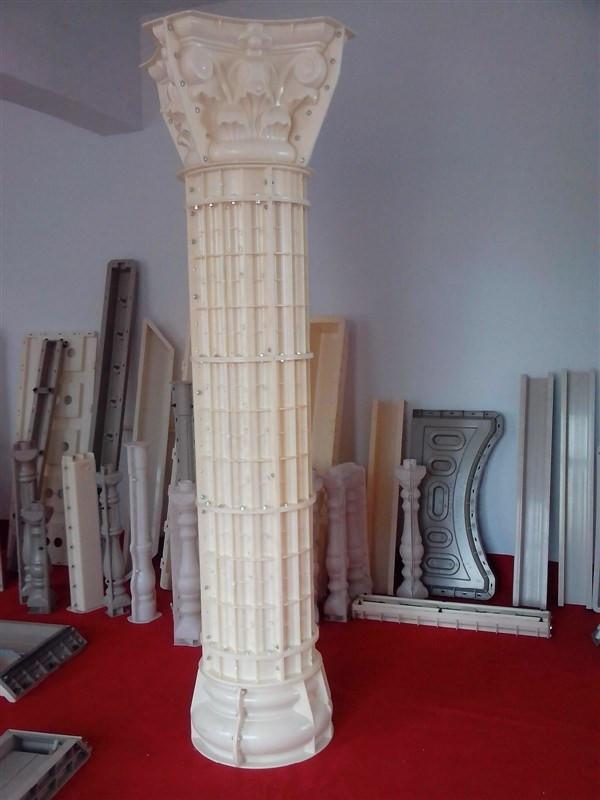 四角头罗马柱模具