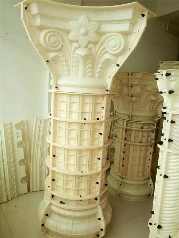 大圆角罗马柱模具
