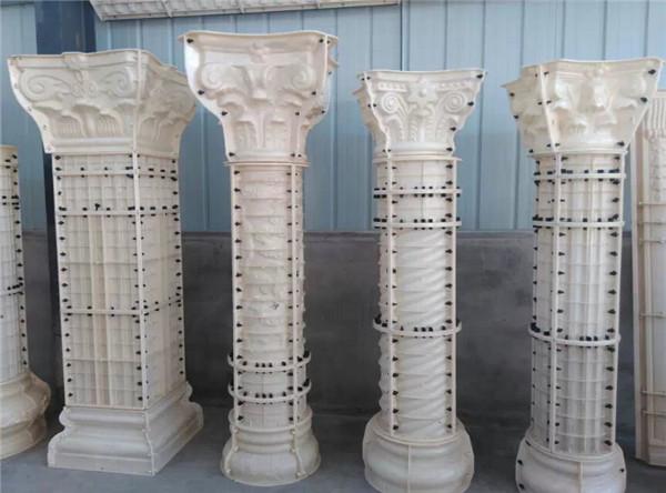 花式罗马柱模具