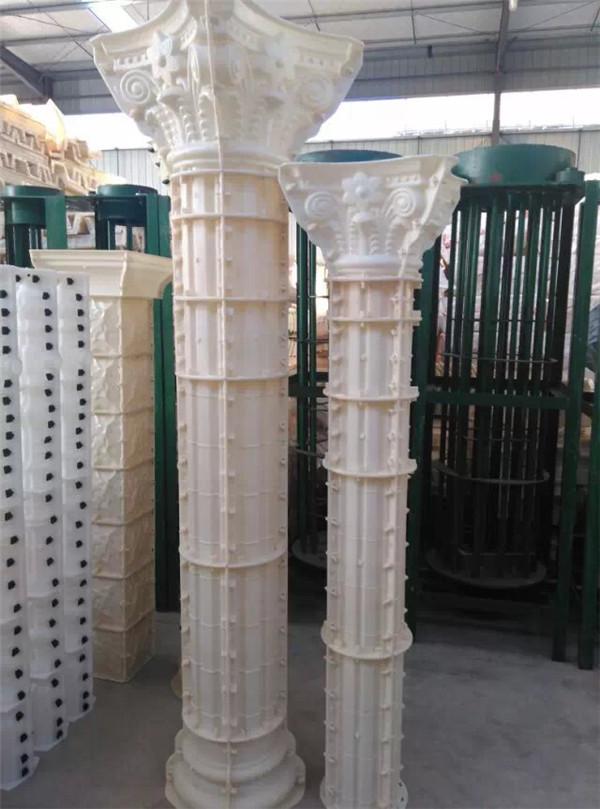 圆角罗马柱模具
