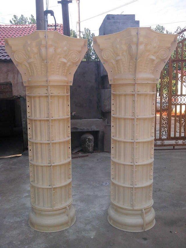 一组式罗马柱模具
