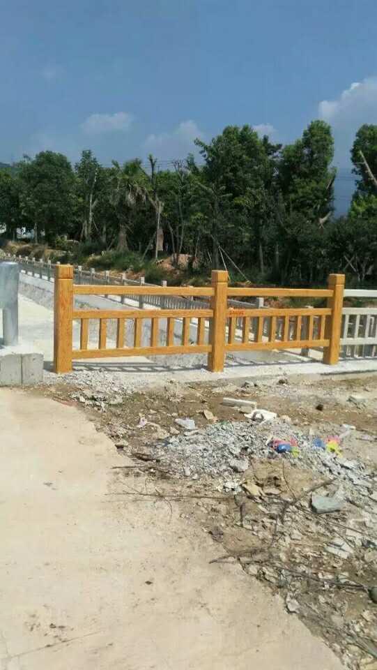 水泥围栏安全又美观能不被人们所喜爱吗