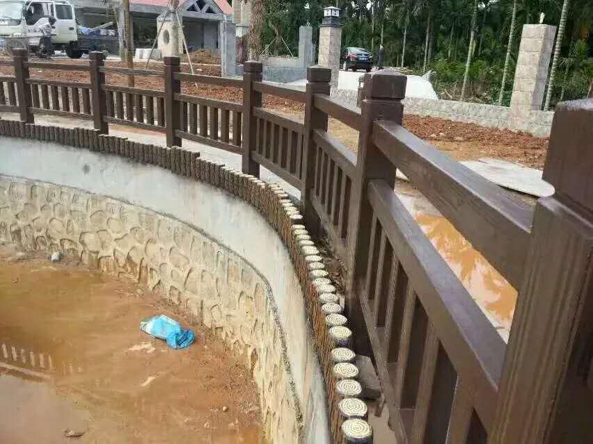 耐用的水泥围栏