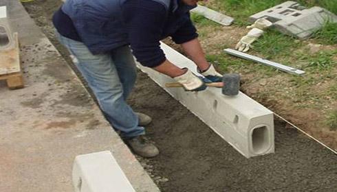路缘石成品排水案例展示
