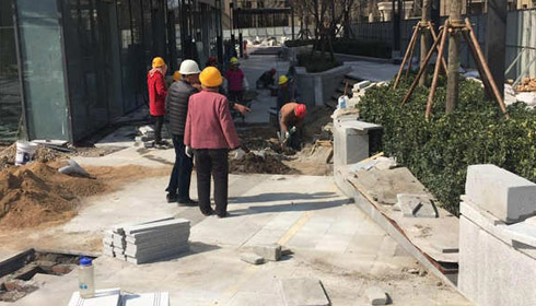 茉莉公馆排水沟改造案例