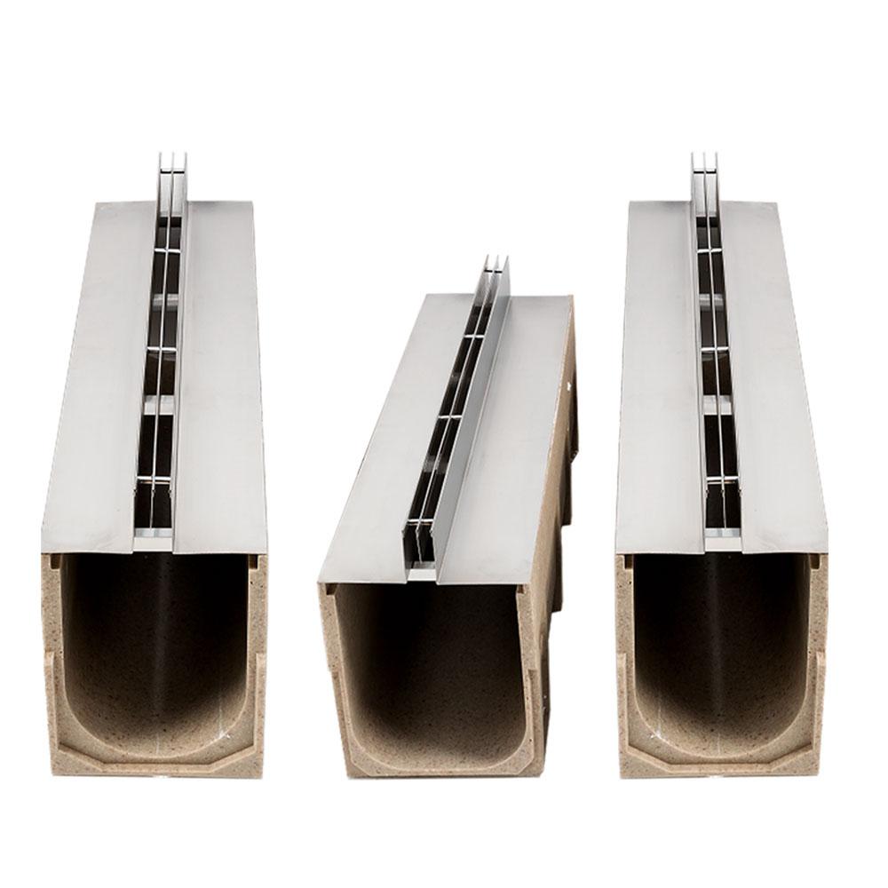 线性树脂混凝土排水沟的主要应用场合有哪些?