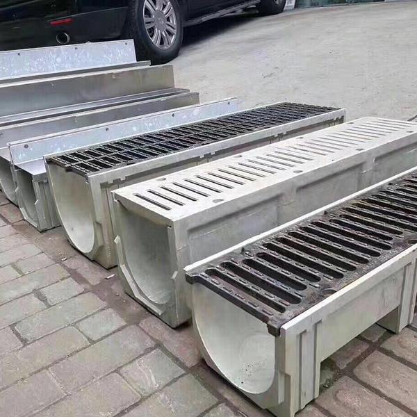 树脂混凝土排水沟安装