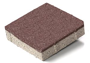 西安陶瓷透水磚(棕紅色)