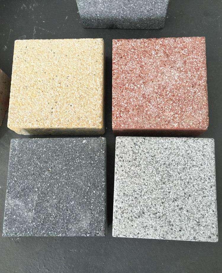 陶瓷透水砖混搭铺装提升城市新鲜感