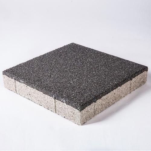 铺设陶瓷透水砖可以方便居民生活