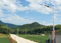 太阳能路灯是如何抵抗台风暴雨的?