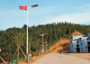 国道路边光能路灯工程由汉阳光能科技承接!