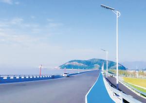 宁波景区路边光能路灯工程由汉阳光能科技施工!