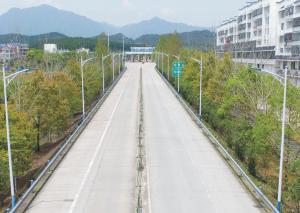 仙游高速收费站光能路灯照明工程!