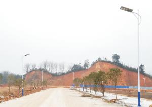 工业园区照明工程选择汉阳光能科技光能路灯!