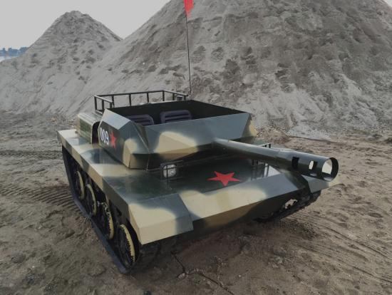 在行驶过程中游乐坦克出现跑偏故障该怎么办呢