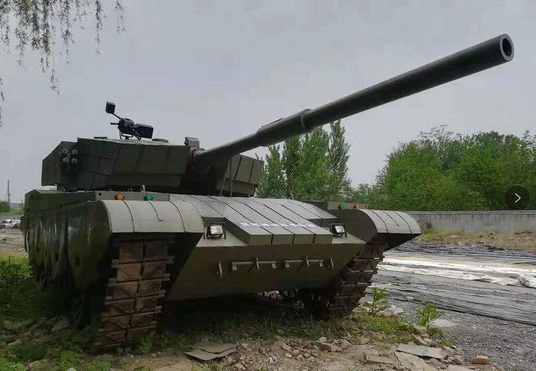 履带游乐坦克1:1