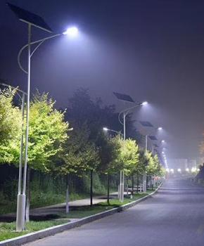 城市道路亮化工程由三陆极光承接