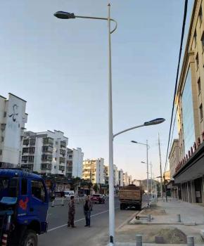 市政照明工程由三陆极光承接