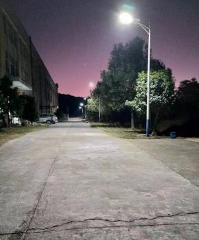 厂区照明安装光能路灯