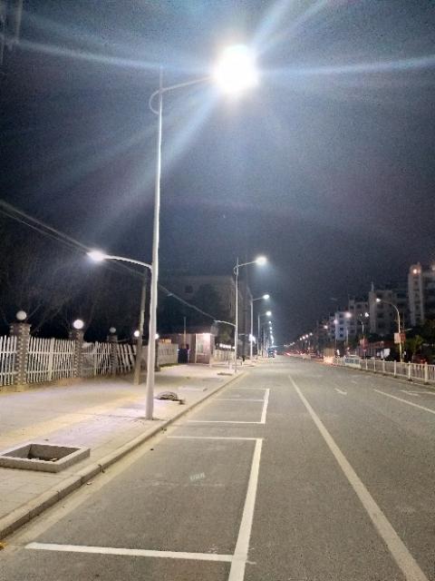 福建南平市浦城县国道安装路灯