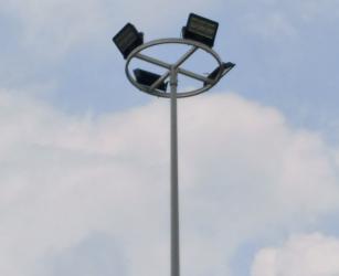 福建南平美丽乡村安装高杆灯,丰富村民夜生活