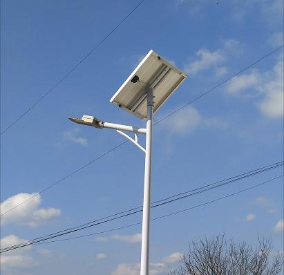 福建省浦城縣公路局太陽能路燈由福建三陸極光安裝