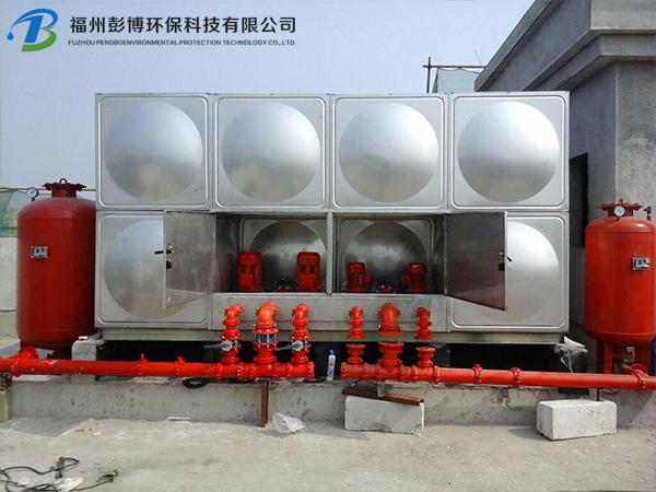 箱泵一�w化球形水箱