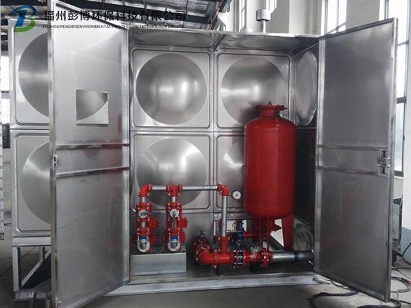 箱泵一体化设备保温水箱