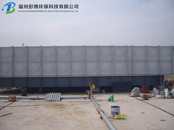 SMC玻璃��M合式水箱