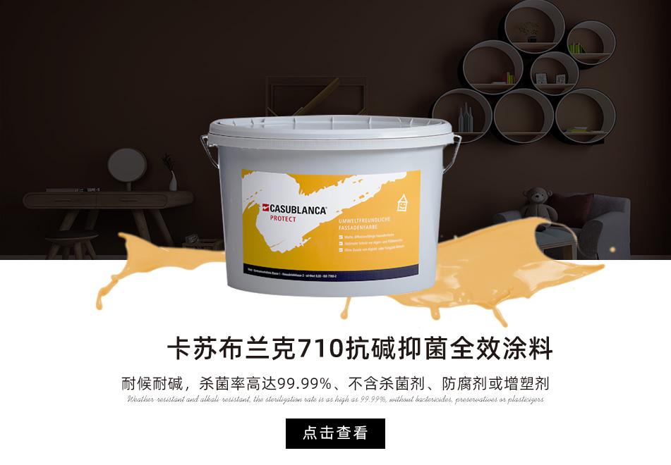 卡苏布兰克710抗碱抑菌全效涂料
