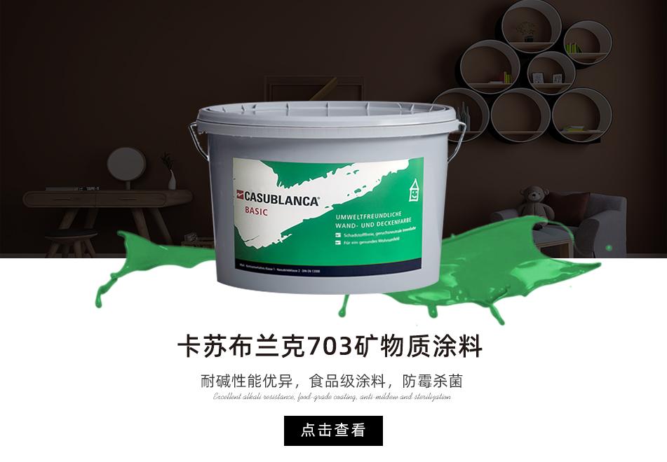 卡苏布兰克703矿物质涂料