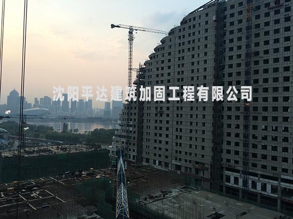 沈阳加固公司案例展示——东北总医院加固改造工程