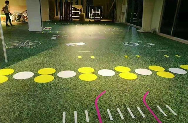 幼儿园PVC弹性地板