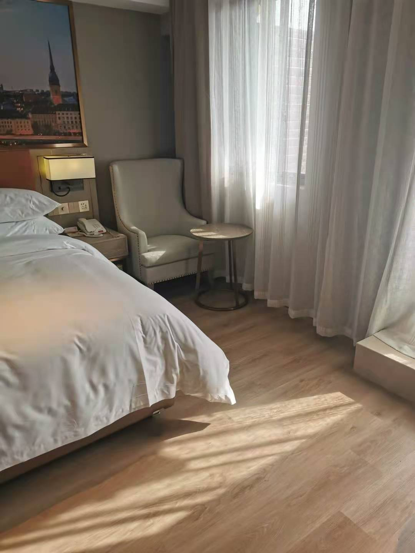 維也納酒店帕瓦利wpc地板完工