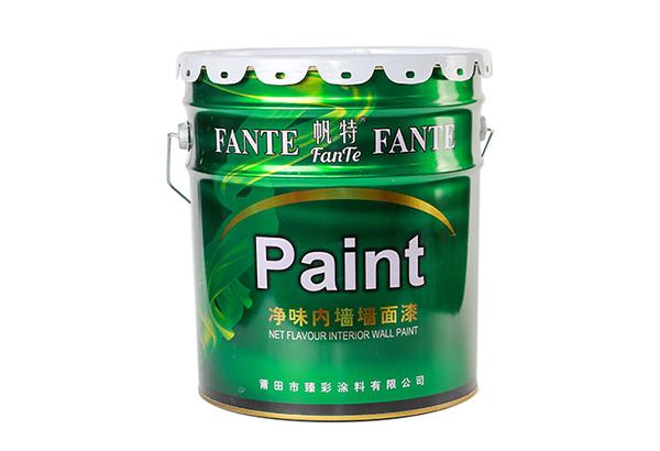 净味内墙墙面漆