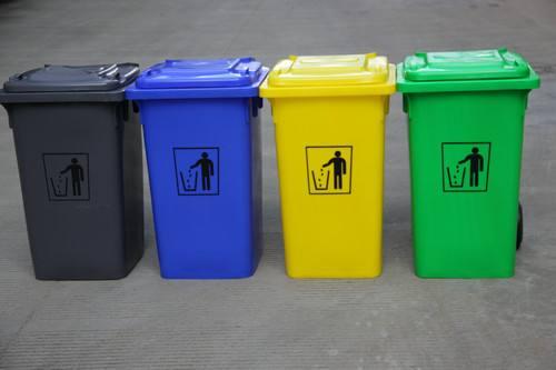 塑料垃圾桶为什么会有这么多颜色