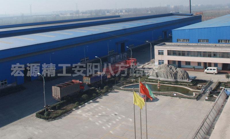 车轮公司厂区俯视图