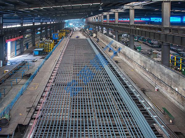 轧钢生产线