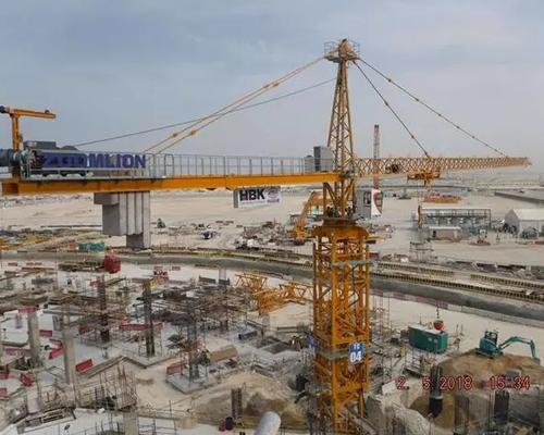 """中国制造""""挑大梁"""" 挑战2022卡塔尔世界杯主场馆高难度施工"""