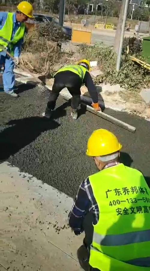 贵阳透水混泥土施工
